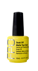 FPO - Soak Off Matte Top Coat