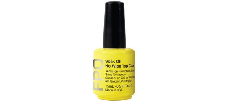 FPO - Soak Off No Wipe Top Coat