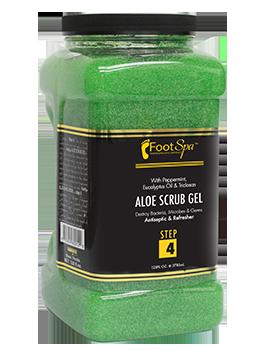Foot Spa - Aloe Scrub Gel